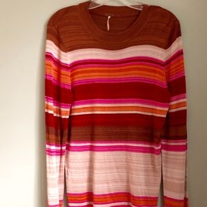 Free People striped sweater | NEW